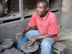 Keramische waterfilter productie