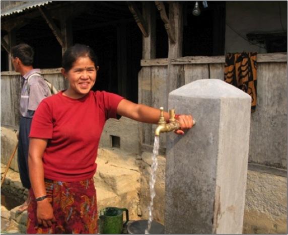 Drinkwater- en Sanitair te Arnakot