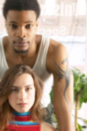 Serious Couple Portrait