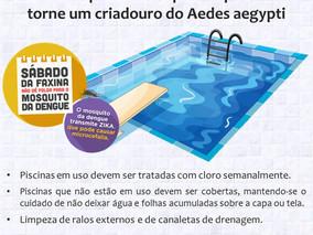 Limpeza de piscinas: fundamental para combater a Dengue, Febre Amarela e Zika Vírus