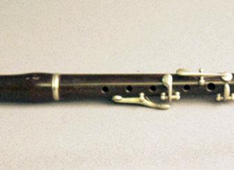 Flûte de sixte, Th. Stanesby, 415 hz , en buis
