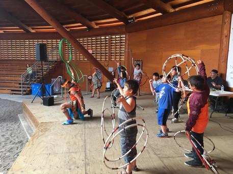 hoop dance performance