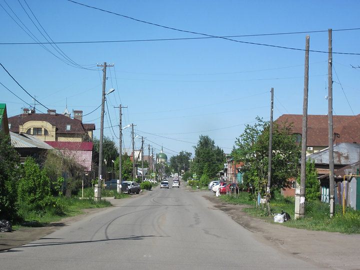 Никольский проспект. Омск