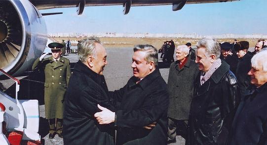 Встреча в Омском аэропорту