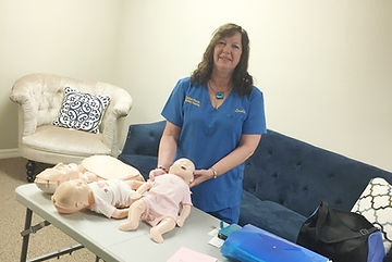 Infant and Child CPR and Safety Training class at The Nest, Lakeland