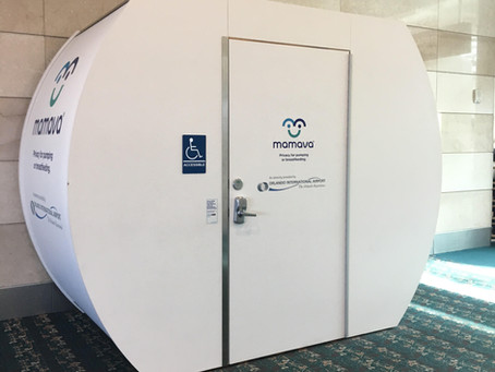 Flying and pumping? Lactation pods to the rescue!