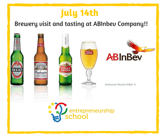 Brewery visit and tasting at AbInbev