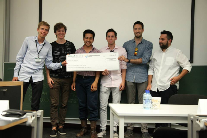 Congratulations to the winning team of the Entrepreneurship School!