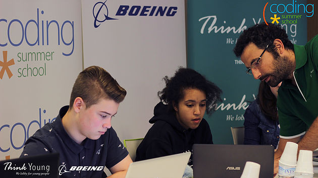 The 'Coding Summer School' by Boeing and ThinkYoung: Supporting digital know-how for the future job