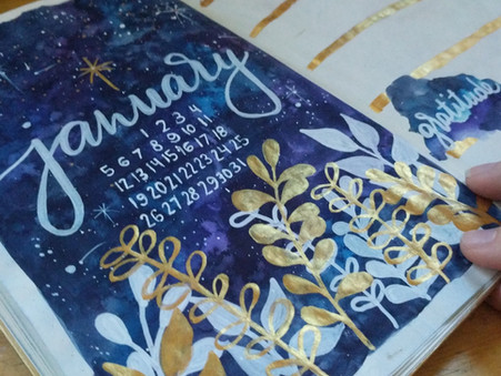 Cultivating Inspiration Through Art Journaling