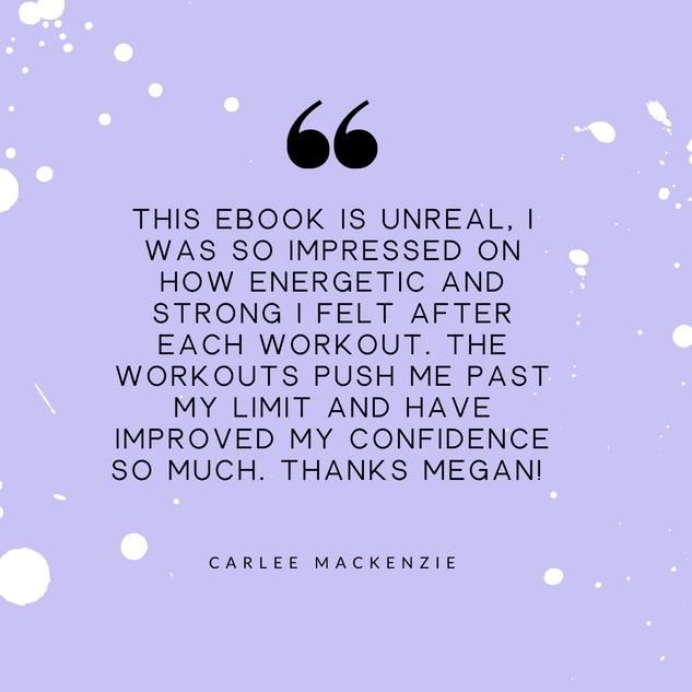 Carlee MacKenzie Review