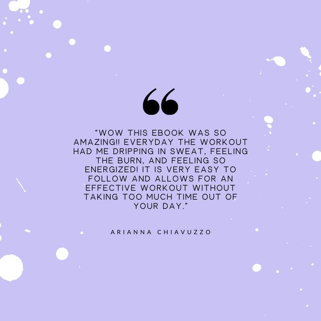 Arianna Chiavuzzo Review