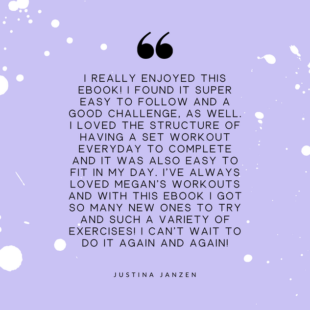 Justina Janzen Review