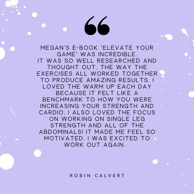 Robin Calvert Review