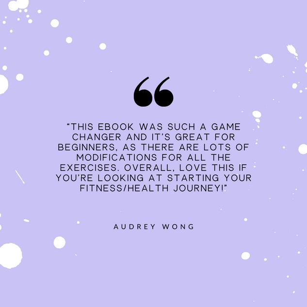 Audrey Wong Review