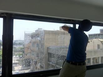 מיגון תחנת משטרת מרכז בתל אביב