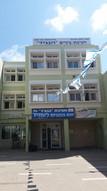 הצללת חלונות בבית ספר הנגיד הרצליה