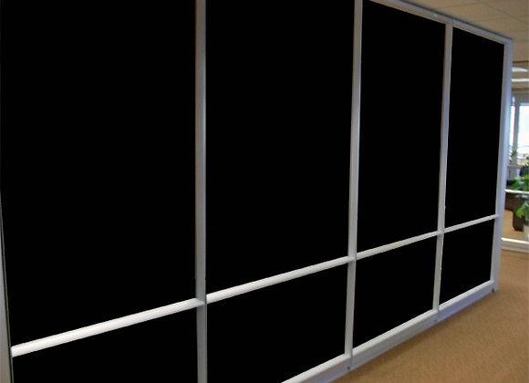 ציפוי שחור אטום לפרטיות וחדירת אור
