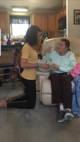 Terri - Kidney Recipient & Camerons Mother Sarah