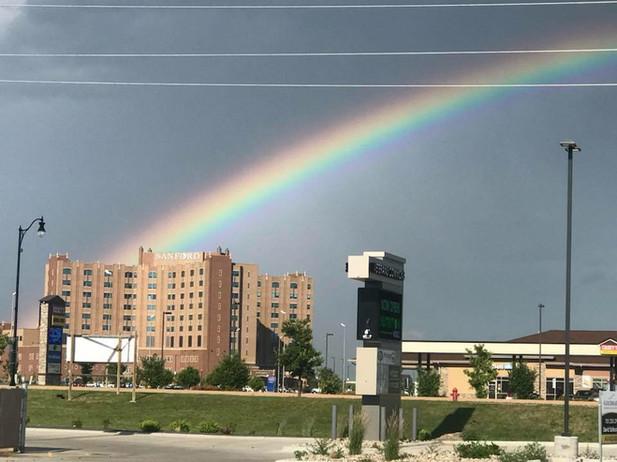 Rainbow at Sanford