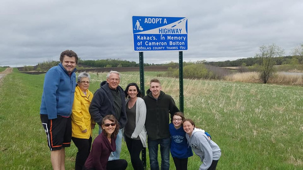 Camerons Adopt a Highway