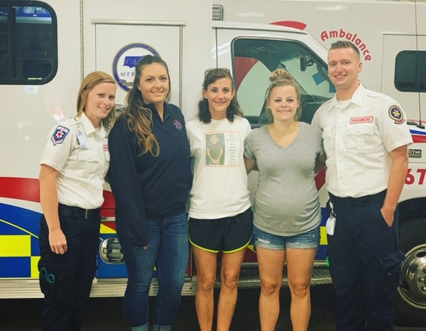 Paramedics who were on Camerons Accident Scene