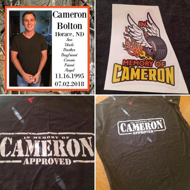 Cameron Decals