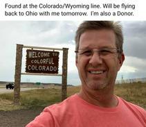 Colorado/Wyoming Border