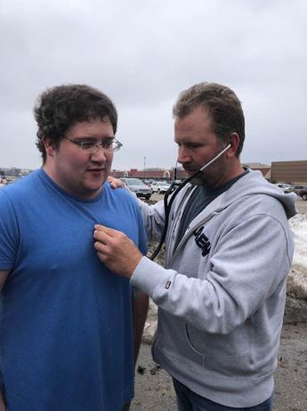 Jeremy - Heart Recipient & Camerons Father Chris