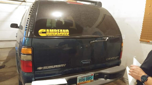 Cameron Car Decals
