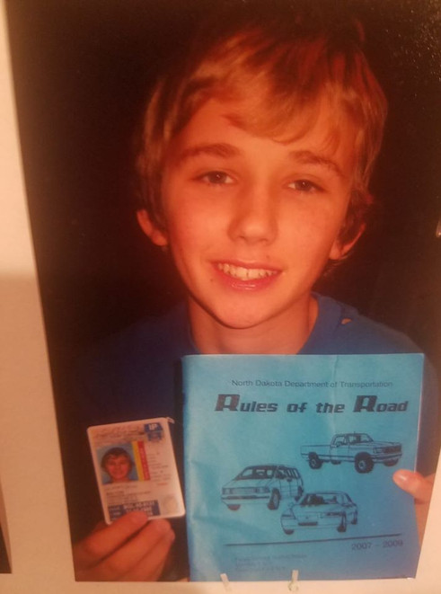 Camerons first Permit!
