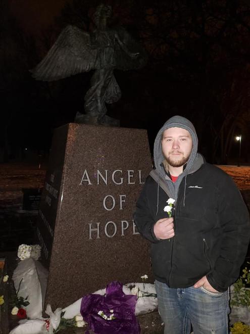 Angel of Hope ceremony