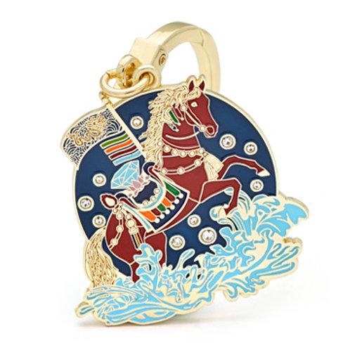 Magical Windhorse Talisman Keychain