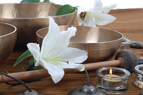 Ayurvedic Healing Bowl Foot Therapy