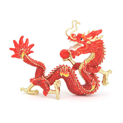 FIRE DRAGON STATUE FOR BUSINESS