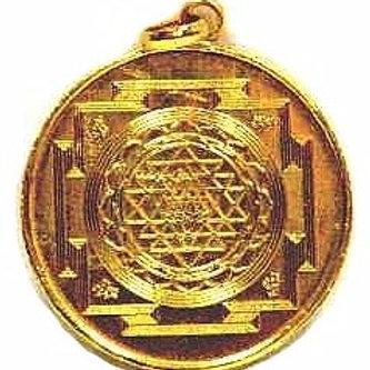 Sri Mahalakshmi Pendant Yantra - Prosperity