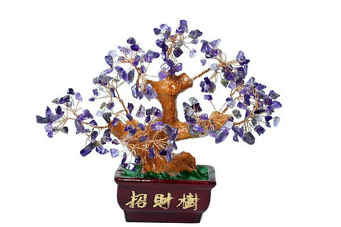 Blessed Money Tree with Amethyst