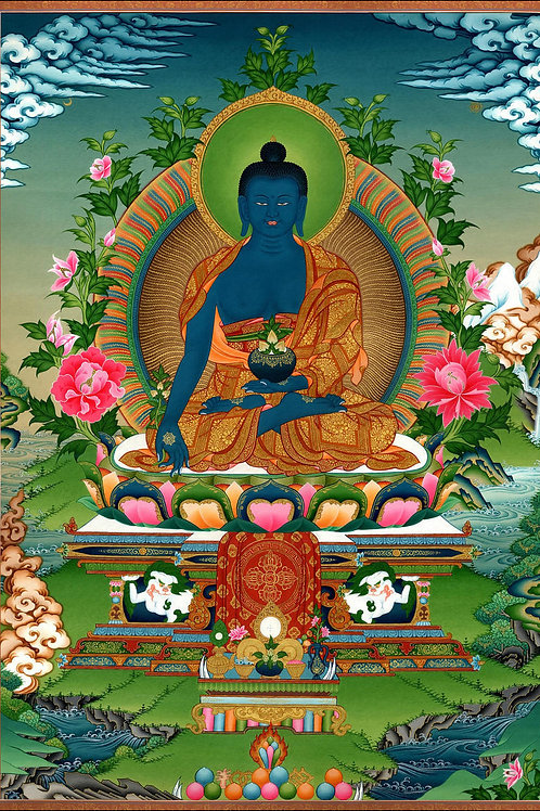 "MEDICINE BUDDHA BLESSING CEREMONY ""PUJA"""