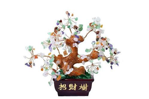 Blessed Money Tree with Multi Stones