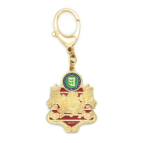 Wealth & Success Keychain