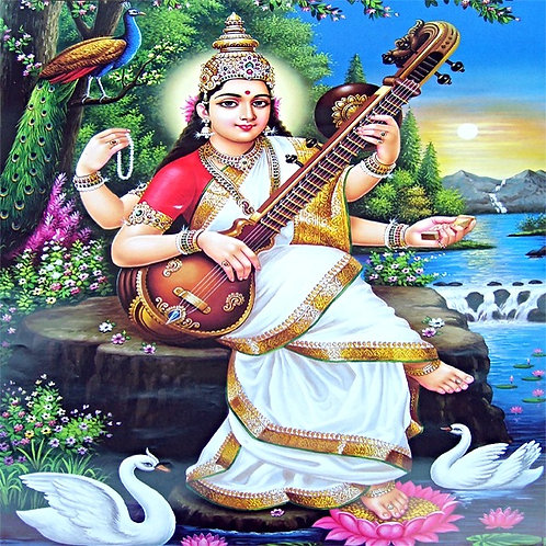 "SARASWATI BLESSING CEREMONY ""PUJA""​"