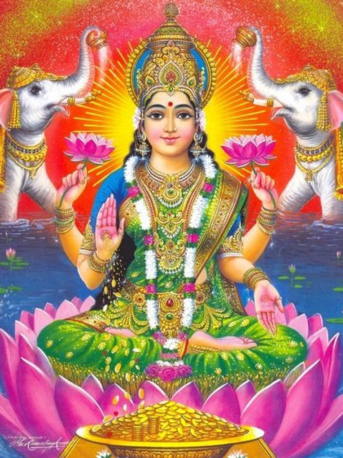 "LAKSHMI BLESSING CEREMONY ""PUJA"""