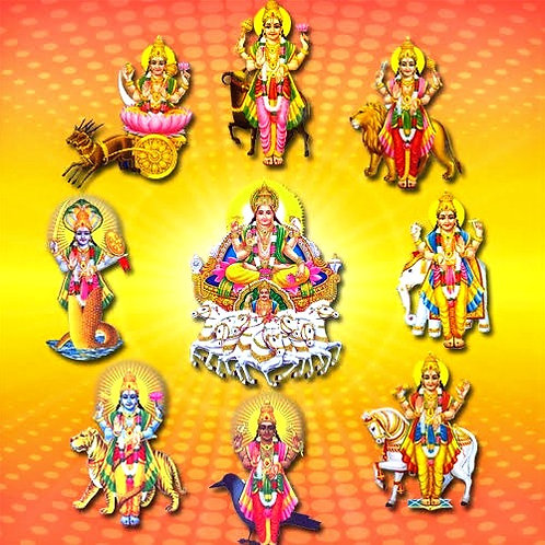 NAVAGRAHA PUJA (9 PLANETS)