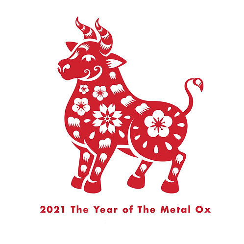"Feng Shui Gift Certificate Astrology Chart 2021 ""The Year of The Metal OX"""