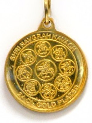 Sri Navgrah Pendant Yantra - The 9 Planet Helper