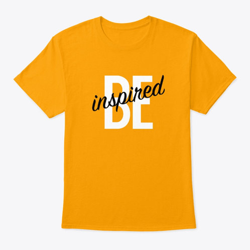 Gold Be inspired T-shirt