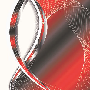 Stylish red abstract background vector 0