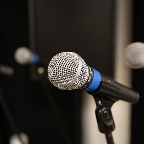 Shure SM58 mics
