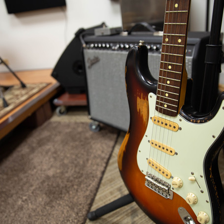 Strat and Fender combo