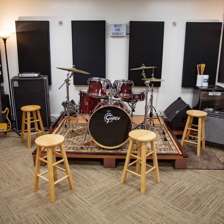 Studio B backline